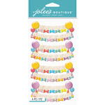 Happy Birthday Banners - Jolee's Boutique Dimensional Stickers