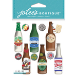 Beer Bottles - Jolee's Boutique Dimensional Stickers