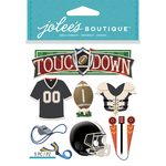 Football - Jolee's Boutique Dimensional Stickers