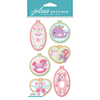 Baby Girl Embroidery Hoops - Jolee's Boutique Dimensional Stickers