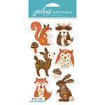 Woodland Felt Animals - Jolee's Boutique Dimensional Stickers