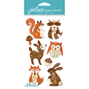 Woodland Felt Animals - Jolee's Boutique Dimensional Stickers