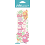 Welcome Baby Girl - Jolee's Boutique Dimensional Stickers