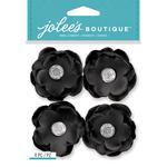 Black Gem Florals - Jolee's Boutique Dimensional Stickers