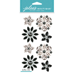 Bling Flowers - Jolee's Boutique Dimensional Stickers