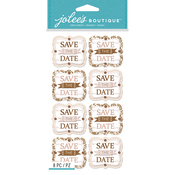 Save The Date - Jolee's Boutique Dimensional Stickers