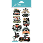 Travel Words - Jolee's Boutique Dimensional Stickers