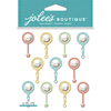 Baby Rattle - Jolee's Boutique Dimensional Stickers