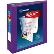 """Purple - Heavy-Duty View Binder 2"""""""