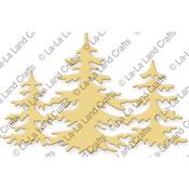 Three Christmas Trees - La-La Land Die