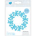 Holly Bouquet - Tonic Studios Rococo Christmas Die