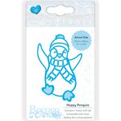 Happy Penguin - Tonic Studios Rococo Petite Christmas Die