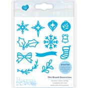 Mini Wreath Decorations - Tonic Studios Rococo Petite Christmas Die