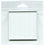 "Joggles Clear Acrylic Stamp Mount 3""X3"""