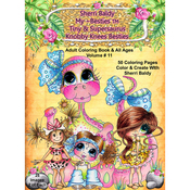 "Tiny & Supersaurus Knobby Knees - My Besties Coloring Book 8.5""X11"" 50 Pages"