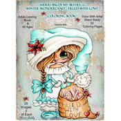 "Winter Wonderland - My Besties Coloring Book 8.5""X11"" 50 Pages"