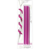 """Bubblegum - Untie Twistable Ribbons 10"""" 4/Pkg"""