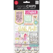 Little Girl - Chipboard Value Pack Stickers