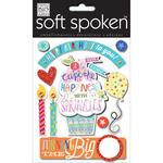 Birthday Cupcake - Soft Spoken Themed Embellishments