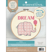 """6"""" Round 14 Count - Cathy Heck Dream Counted Cross Stitch Kit"""