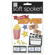 Night At The Movies - Soft Spoken Themed Embellishments