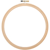 """Natural - Wood Embroidery Hoop W/Round Edges 8"""""""