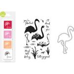 Flamingo - Hero Arts Color Layering Bundle