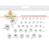 Sick & Tired Emojis - Peachy Keen Stamps Clear Face Assortment 32/Pkg