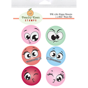 Zippy Emojis - Peachy Keen Stamps Clear Face Set 6/Pkg