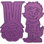 """Monster Kids 1, 1.5"""" To 1.75"""" - Cheery Lynn Designs Die"""