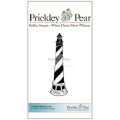"Tall Lighthouse - Prickley Pear Cling Stamps 4""X1"""