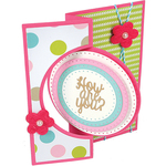 Circles Dotted - Sizzix Framelits Dies By Stephanie Barnard 8/Pkg