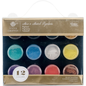 Couture Creations Mix & Match Pigments 12/Pkg