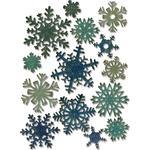 Mini Paper Snowflakes - Sizzix Thinlits Dies 14/Pkg By Tim Holtz