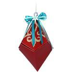 Snowflake Diamond Box - Sizzix Thinlits Dies 6/Pkg By Lindsey Serata