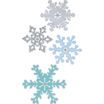 Snowflakes #2 - Sizzix Thinlits Dies 4/Pkg