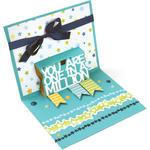 One In A Million 3-D Drop-Ins - Sizzix Thinlits Dies 5/Pkg By Stephanie Barnard