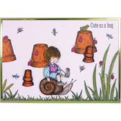 Cute As A Bug - Hunkydory Clear Stamps