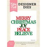 Christmas Joy Word - Echo Park Dies