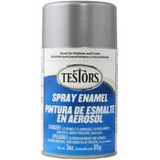 Metallic Silver - Testors Spray Enamel 3oz