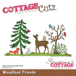 "Woodland Friends, 4""X2.3"" - CottageCutz Die"