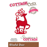 "Blissful Deer, 1.7""X2.8"" - CottageCutz Elites Die"