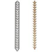 Leaf Chain - Sizzix Thinlits Die By Jill MacKay