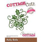 """Holly Bells, 2.4""""X2.5"""" - CottageCutz Elites Die"""