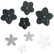 Star Jasmine - Sizzix Movers & Shapers Magnetic Die W/Thinlits By Jill Mac