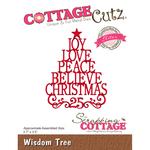 "Wisdom Tree, 2.7""X3.5"" - CottageCutz Elites Die"