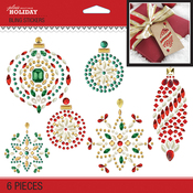 Bling Holiday Ornaments - Jolee's Boutique Dimensional Stickers