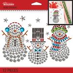 Bling Snowmen - Jolee's Boutique Dimensional Stickers