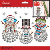 Bling Snowmen - Jolee's Boutique Dimensional Stickers