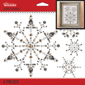 Bling Snowflake - Jolee's Boutique Dimensional Stickers